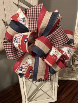 Pratiotic Handmade 4th Of July Wreath Ideas 16