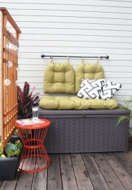 Stunning Balcony Decoration Ideas With Seating Areas 18
