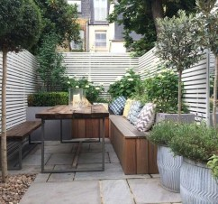 Stunning Balcony Decoration Ideas With Seating Areas 36