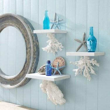 Stylish Coastal Bathroom Remodel Design Ideas 17
