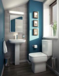 Stylish Coastal Bathroom Remodel Design Ideas 49
