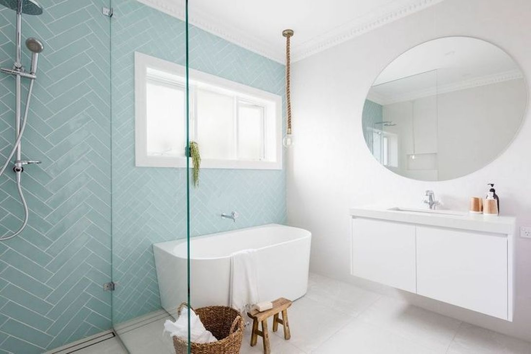 Stylish Coastal Bathroom Remodel Design Ideas 50