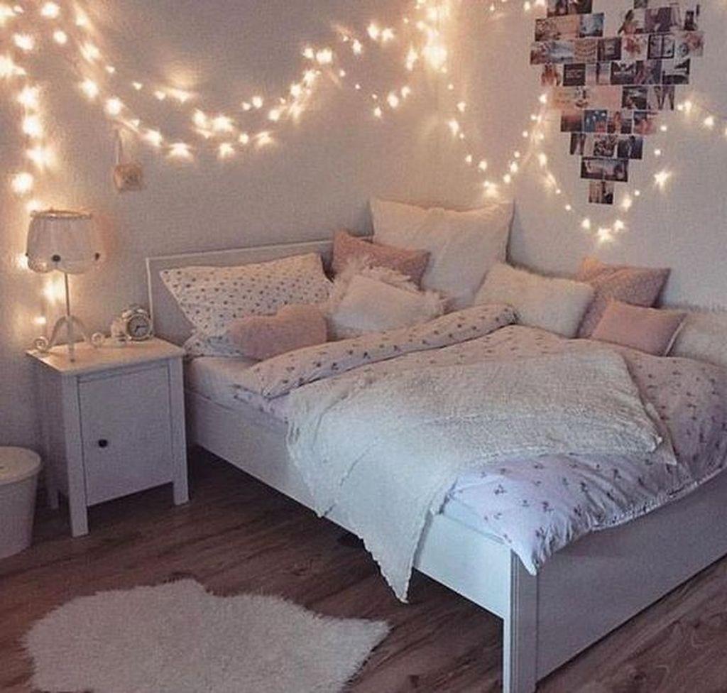 30+ Trendy Decoration Ideas For Teenage Bedroom Design ... on Trendy Teenage Room Decor  id=35013