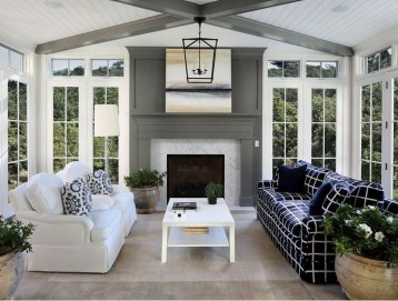 Unordinary Sunroom Design Ideas For Interior Home 10