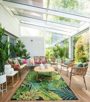 Unordinary Sunroom Design Ideas For Interior Home 16