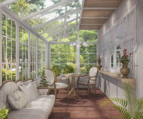 Unordinary Sunroom Design Ideas For Interior Home 31