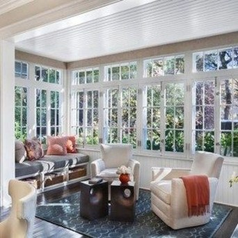 Unordinary Sunroom Design Ideas For Interior Home 32