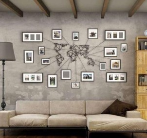 Amazing Wall Art Design Ideas For Living Room 05
