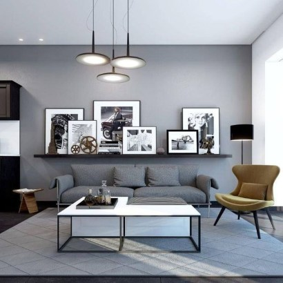 Amazing Wall Art Design Ideas For Living Room 07