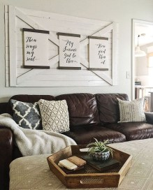 Amazing Wall Art Design Ideas For Living Room 19