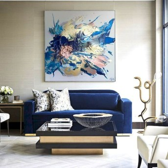 Amazing Wall Art Design Ideas For Living Room 40