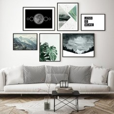Amazing Wall Art Design Ideas For Living Room 47