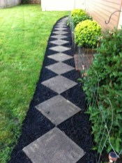 Awesome Small Garden Ideas With Stone Path 03