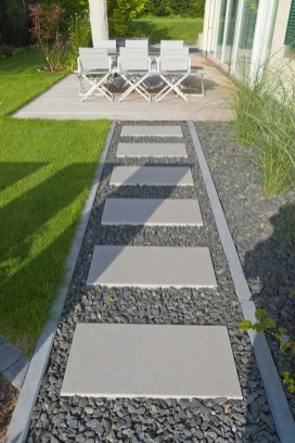 Awesome Small Garden Ideas With Stone Path 07