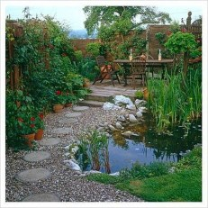 Awesome Small Garden Ideas With Stone Path 22