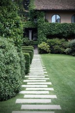 Awesome Small Garden Ideas With Stone Path 31