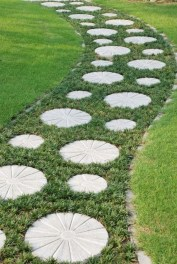 Awesome Small Garden Ideas With Stone Path 41