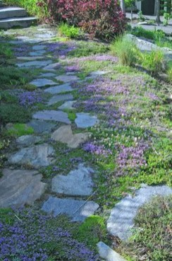 Awesome Small Garden Ideas With Stone Path 43