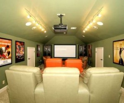 Best Small Movie Room Design For Your Happiness Family 18