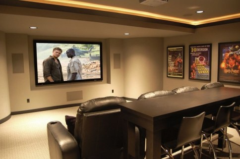 Best Small Movie Room Design For Your Happiness Family 45