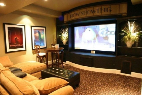 Best Small Movie Room Design For Your Happiness Family 50
