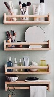 Brilliant Bathroom Storage Ideas For Your Bathroom Design 50