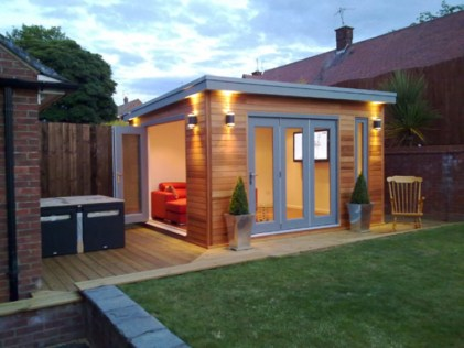 Classy Summer House Ideas For Home Interior 16