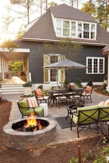 Inspiring Backyard Patio Design Ideas With Beautiful Landscaping 08