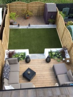 Inspiring Backyard Patio Design Ideas With Beautiful Landscaping 40