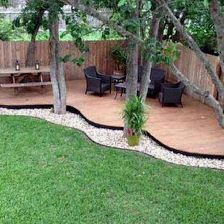 Inspiring Backyard Patio Design Ideas With Beautiful Landscaping 44