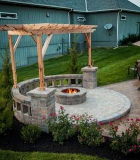 Marvelous Outdoor Fire Pit Ideas To Enjoying This Summer 02