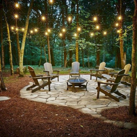 Marvelous Outdoor Fire Pit Ideas To Enjoying This Summer 33