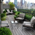 Outstanding Terrrace Design For Enjoying Summer At Home 41