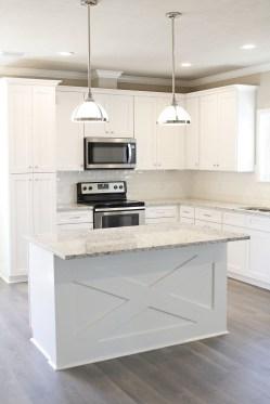 Stunning Wood Floor Ideas To Beautify Your Kitchen Room 36
