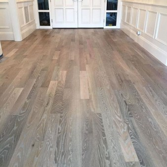 Stunning Wood Floor Ideas To Beautify Your Kitchen Room 46