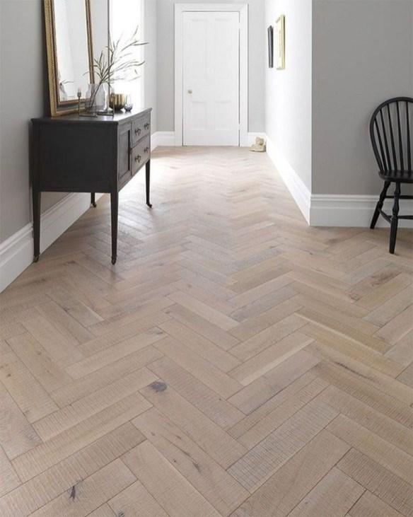Stunning Wood Floor Ideas To Beautify Your Kitchen Room 49