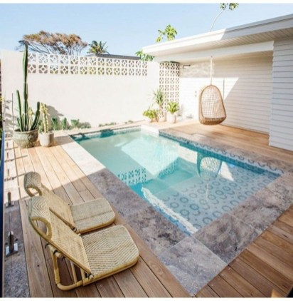 The Best Swimming Pool Design Ideas For Summer Time 24