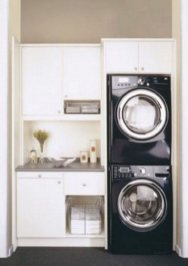 Wonderful Laundry Room Decorating Ideas For Small Space 15