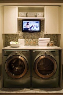 Wonderful Laundry Room Decorating Ideas For Small Space 20