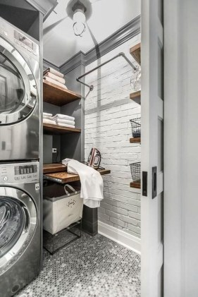 Wonderful Laundry Room Decorating Ideas For Small Space 33