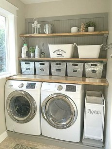 Wonderful Laundry Room Decorating Ideas For Small Space 41