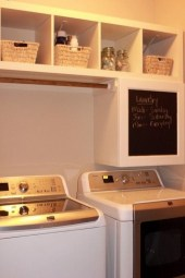 Wonderful Laundry Room Decorating Ideas For Small Space 46