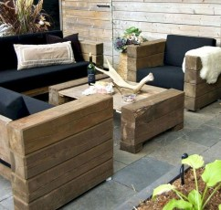 Best DIY Outdoor Furniture Ideas You Can Put In Garden 37