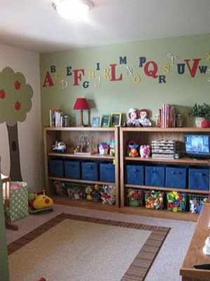 Brilliant Toy Storage Ideas For Small Space 21