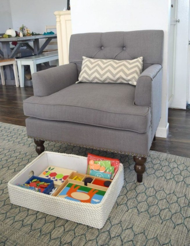 Brilliant Toy Storage Ideas For Small Space 24