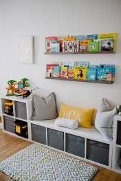Brilliant Toy Storage Ideas For Small Space 29