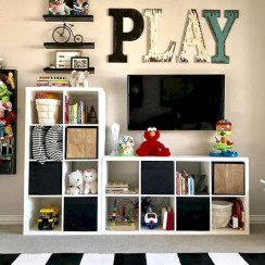 Brilliant Toy Storage Ideas For Small Space 38