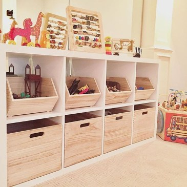Brilliant Toy Storage Ideas For Small Space 42