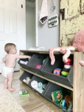Brilliant Toy Storage Ideas For Small Space 47