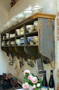 Fabulous Rustic Kitchen Decoration Ideas 35